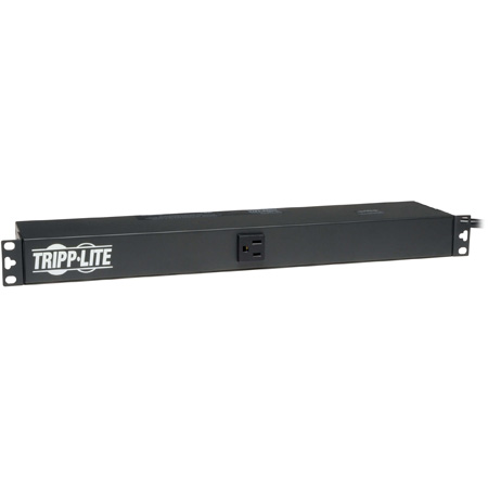 Tripplite PDU1215 15A Rackmount Power Conditioner with 12 Rear Outlets (1-Front)