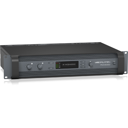 Lab Gruppen PDX3000 - 3000 Watt Two Channel Power Amplifier with DSP Control
