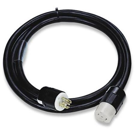 LEX PE105-100-L2130 30A 3 Phase 120/208 VAC NEMA L21-30 10/5 SOW L2130 Locking Extension Cord - 100 Feet