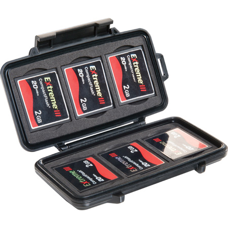 Pelican 0945 Micro Memory Card Case - Compact Flash
