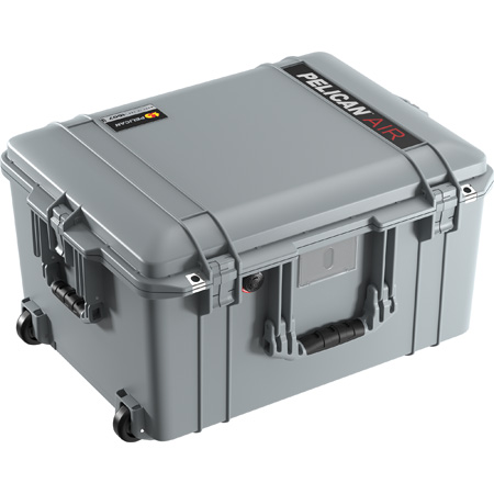 Pelican 1607WF Air Case with Foam - Silver