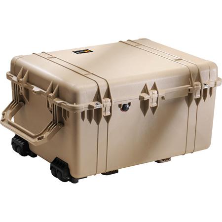 Pelican 1630WF Protector Transport Case with Foam - Desert Tan