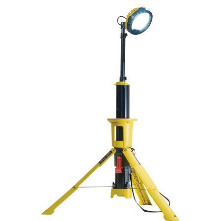 Pelican 9440 Rechargeable 5300 Lumens Outdoor LED Remote Area Work Light with Bluetooth - Yellow