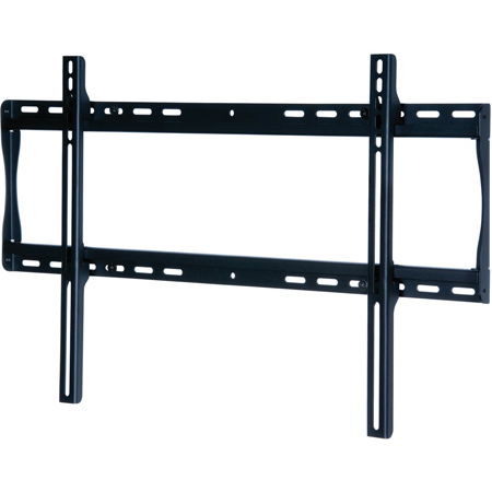 Peerless-AV SF650 Universal Flat Wall Mount For 39-75 in. Displays - Security Model - Black