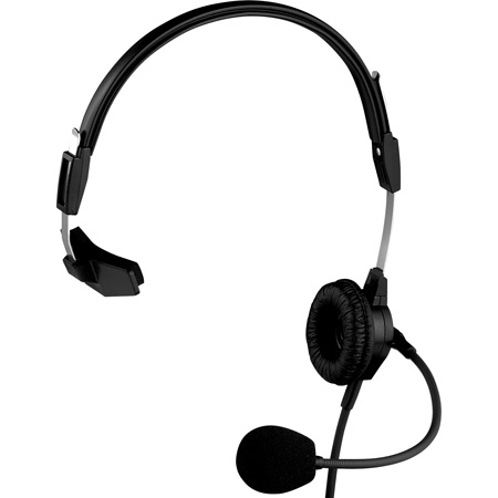 RTS PH-88 Headset - Single Sided with A4F XLR Female Connector