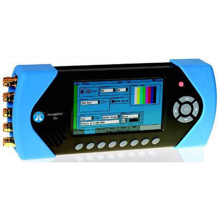 Phabrix SxD Dual Link 3G-SDI/HD-SDI/SD-SDI Portable Video Test Signal Generator