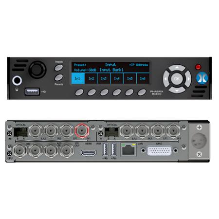 Phabrix PHRX500A Rx 1U 9.5 Inch Rack Mount Chassis - HD/SD-SDI Base Unit with CPU module Includes Analyzer Module