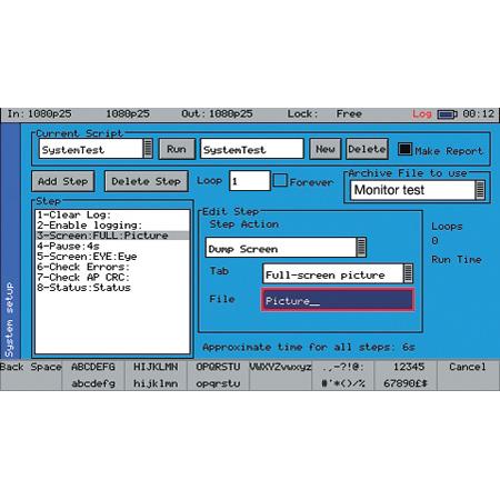Phabrix PHSXOS Scripting Option for Phabrix SX