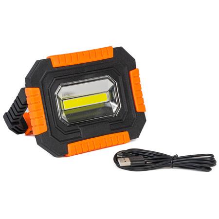 PJL-1 Magnetic 3-Mode COB Portable LED Work Light - Rechargeable - Li-Ion