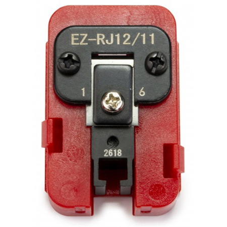 Platinum Tools 100073C EZ-RJ12/11 Die for EXO Crimp Frame
