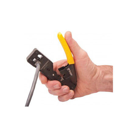 Platinum Tools 12515C Tele-TitanXg Cat6A/10Gig Crimp Tool