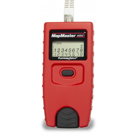Platinum Tools T109C MapMaster-Mini Pocket UTP/STP Cable Tester