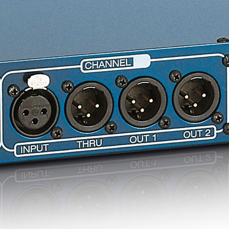 Palmer Audio PRMMS Microphone Splitbox 4 Channel