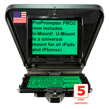 ProPrompter HDi Pro2 Mobile Teleprompter