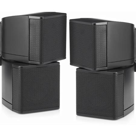 Pure Resonance Audio PRA-MC2.5B 2.5 Inch Swiveling Cube Speaker without Brackets - Pair