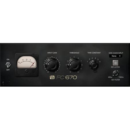 PreSonus FC-670 Compressor - Fat Channel Plug-in (software)