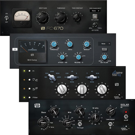 PreSonus Classic Studio Bundle - Fat Channel Plug-in Bundles (software)