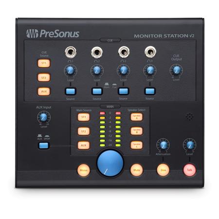 PreSonus Monitor Station V2 Desktop Studio Control Center with SPDIF Input
