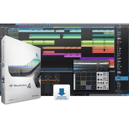 PreSonus Studio One 4 Artist Crossgrade from Notion (Download)