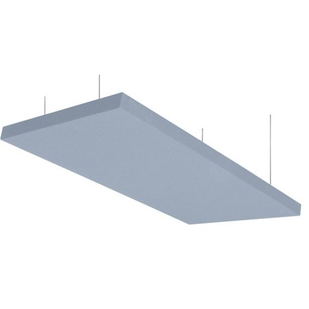 Primacoustic Z840-1205-08  24 x 48 x 2 Inch Nimbus Ceiling Cloud Panel - Mounting Hardware Included - Grey