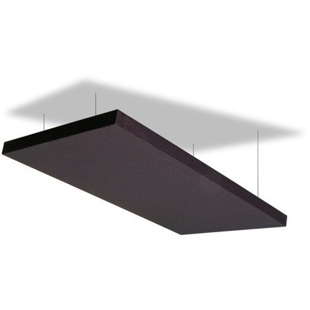 Primacoustic Z840 1225 00 Acoustic Cloud with Anchors & Wire - 24 Inch x 48 Inch x 1.5 Inch (2 Panels)