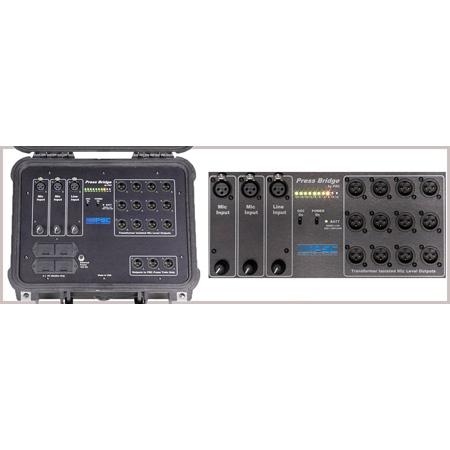 Professional Sound Corporation FPSC0014 Press Bridge 2x12 Press Conference Box
