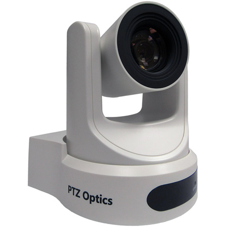 PTZOptics 12X Optical Zoom - USB 3.0 IP Network RJ45 HDMI CVBS - 1920 x 1080p - 72.5 Degree FOV (White) US Style Power