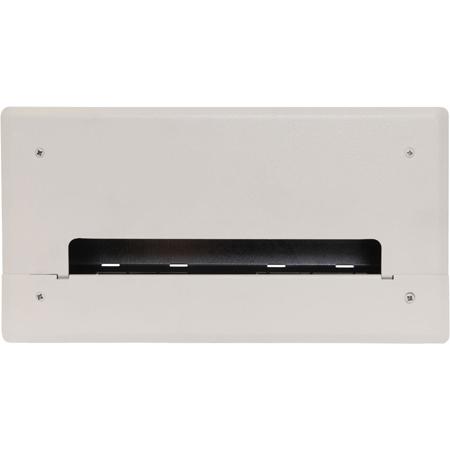 FSR PWB-100-WHT Wall Box for AV and Power - White