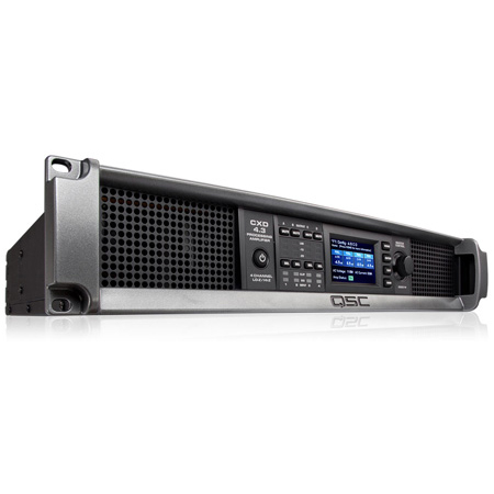 QSC CXD4.3-NA 4-Channel 4000W Processing Amplifier with Onboard DSP