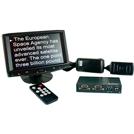 Autocue MON-SSP/PREVIEW 7 Inch Preview Monitor VGA Splitter and Cables
