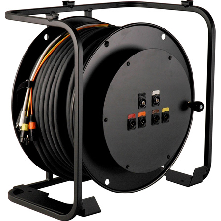 Laird RA4V2-HD250PL High Definition Broadcast AV Reel w/ Connectorized Hub - 250 Foot