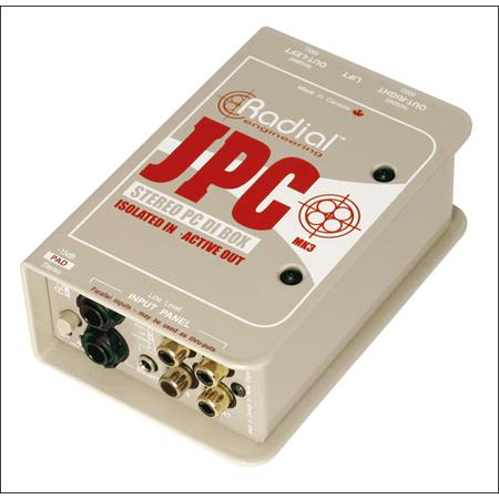 Radial JPC Stereo PC-AV Direct Box