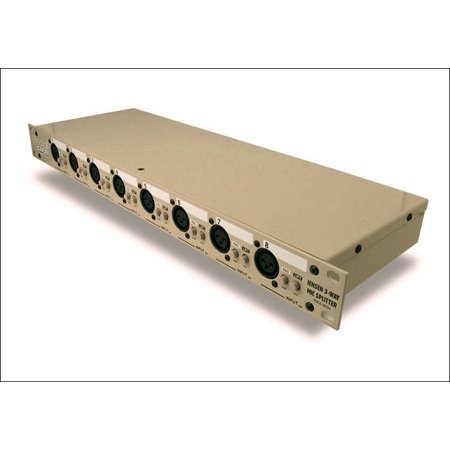 Radial OX8-j Mic Splitter - Passive w/ 8-input to 8-direct out & 8-isolated out - Jensen Transformers
