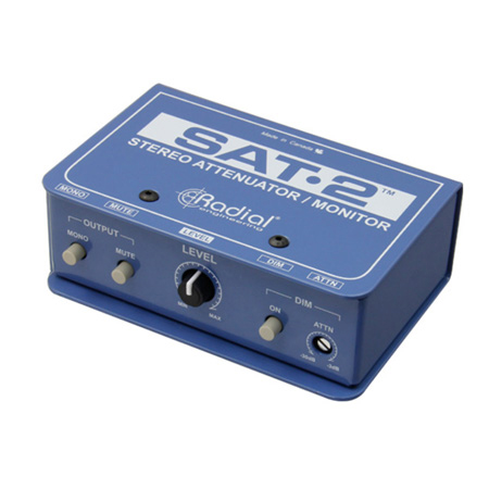 Radial Engineering SAT2 Passive Line Level Stereo Attenuator