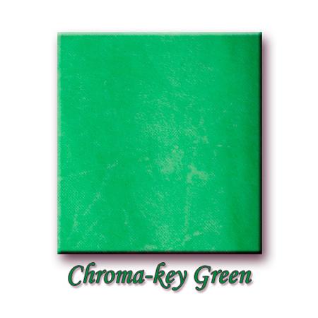 UPS 72in Prod Cloth Fire Retardant Chroma Key Green