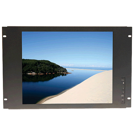 Recortec RMM-917 17 Inch Rack Mount LCD Monitor