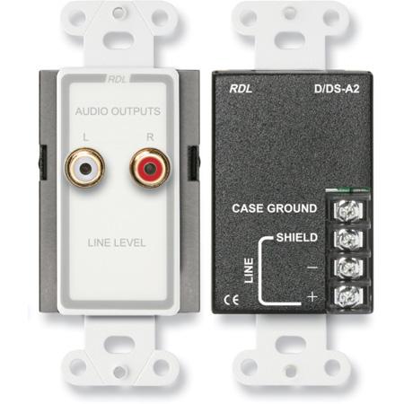 RDL D-A2 Line Output Assembly