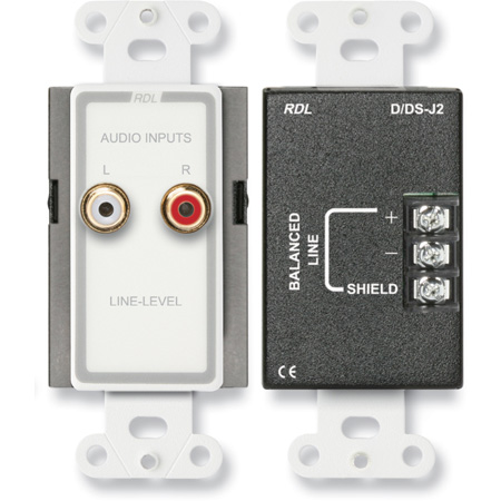 RDL D-J2 Line Input Assembly