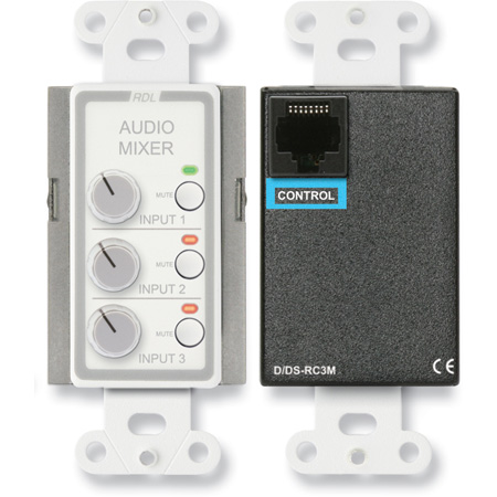 Radio Design Labs D-RC3M Remote Audio Mixing Control with Muting