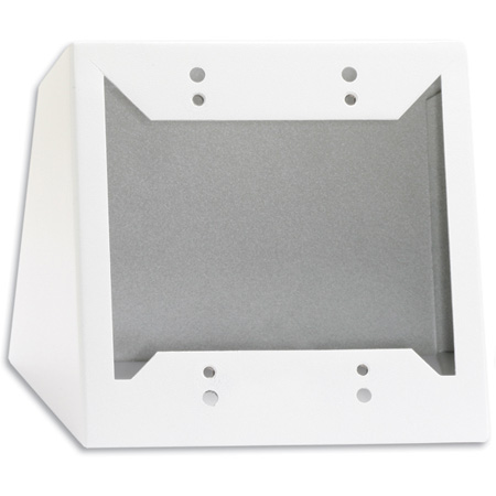 RDL DC-2W Desktop or Wall Mounted Chassis for Decora Remote Controls and Panels White