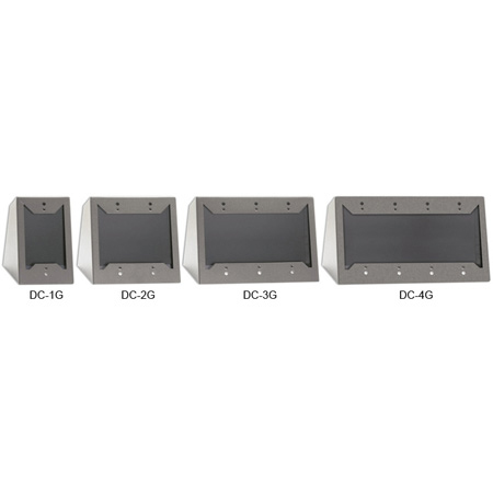 RDL DC-4G Desktop or Wall Mounted Chassis for Decora Remote Controls and Panels