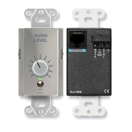 RDL DS-RLC10KM Remote Level Control with Muting