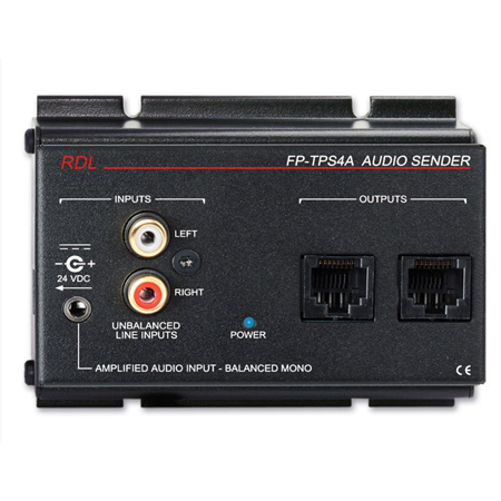 RDL FP-TPS4A Format-A Two-Pair Audio Sender