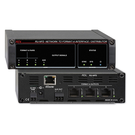 RDL RU-NFD Network to Format-A Interface/Distributor