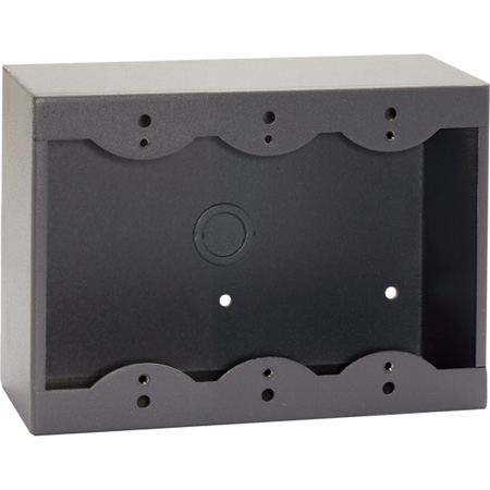RDL SMB-3G 3-Gang Surface Mount Box for Decora Remote Controls and Panels - Gray