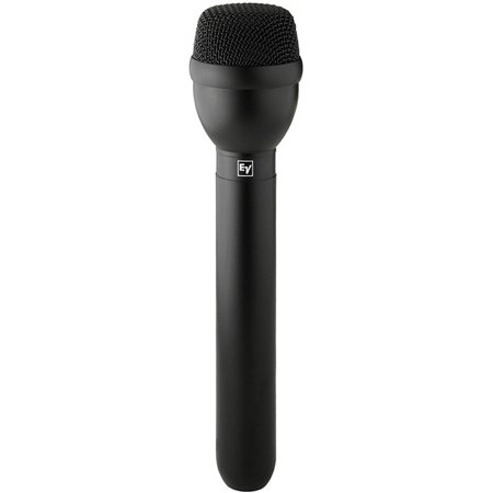 Electro-Voice RE50B Dynamic Omnidirectional Handheld ENG Microphone Black