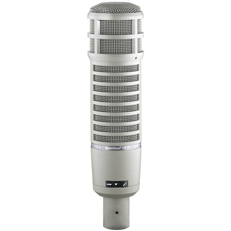 Electro-Voice RE20 Dynamic Cardioid Vocal - Broadcast & Voiceover Microphone