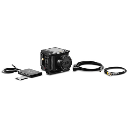 RED Camera 710-0339 KOMODO™ 6K Camera Starter Pack with RED PRO CFast 512GB and Timecode/Ptap Power Cables
