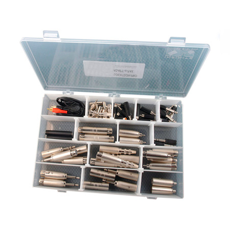 Remote Audio APPKI PRO Adapt-a-Pak Pro Kit Featuring 55 Adapters of 30 Types