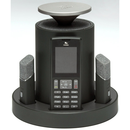 Revo Labs FLX2020VOIP FLX VoIP SIP Wireless Conference Phone w/2 Directional Mics